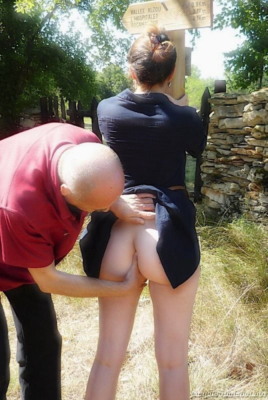 Grand Dad inspects new maid